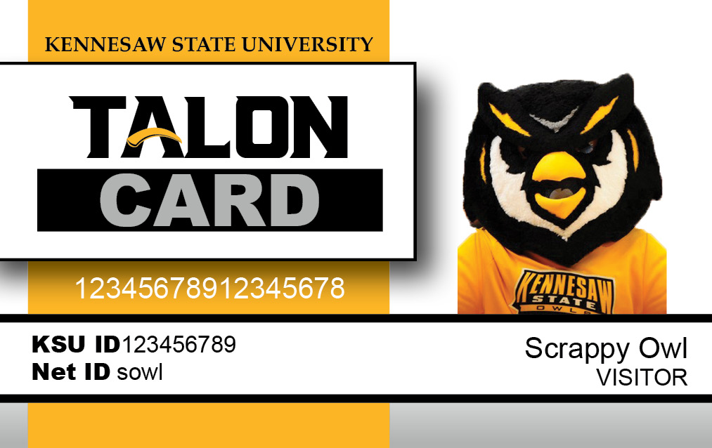 Front of Talon Card